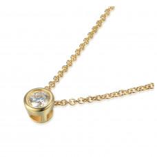 Couple Zlatý dámský náhrdelník Kirsty 3840110-0-45-99