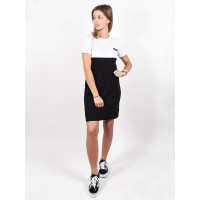 Element BLOCKED FLINT BLACK společenské šaty krátké - S