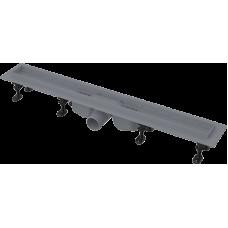 Alcaplast APZ12-850 plastový podlahový žlab s okrajem pro perforovaný rošt nebo vložení dlažby (APZ12-850)