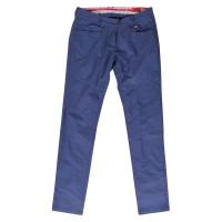Vehicle DOREN blue plátěné sportovní kalhoty dámské - 28