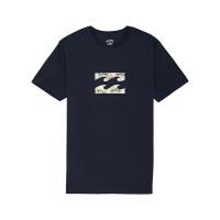 Billabong TEAM WAVE NAVY pánské tričko s krátkým rukávem - XL