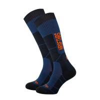 Horsefeathers SETH ATRIP ECLIPSE moderní barevné pánské ponožky - 8 - 10