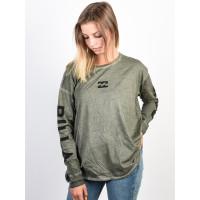 Billabong MY LOOK olive dámské tričko s dlouhým rukávem - M