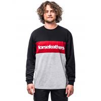 Horsefeathers SPAZ LAVA RED pánské tričko s krátkým rukávem - XXL