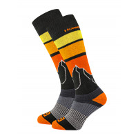 Horsefeathers BLAIR black moderní barevné pánské ponožky - 11 - 13