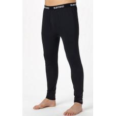 Burton MIDWEIGHT PANT TRUE BLACK pánské thermo prádlo - XS