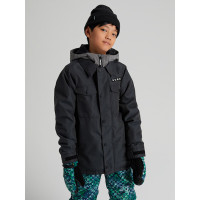 Burton UPROAR black denim dětská zimní bunda - M