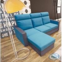 Rohová sedací souprava Maxx modro-šedá - FALCO