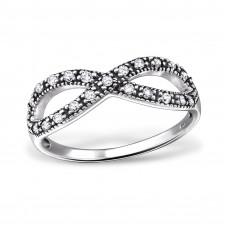 OLIVIE - stříbrný prsten 0229 Velikost prstenů: 8 (EU: 57 - 58)