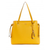 GUESS kabelka Digital Shopper Shoulder Bag žlutá vel.