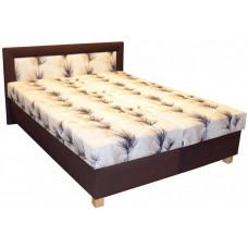 Čalouněná postel Jitka 160x200 hnědá - PROKOND