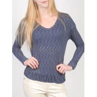 Roxy ABOAT TIME BTN6 dámské tričko s dlouhým rukávem - S