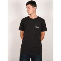 Animal BEKKER black pánské tričko s krátkým rukávem - M
