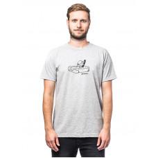 Horsefeathers BUTTER ASH pánské tričko s krátkým rukávem - M