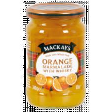 Mackays pomerančový džem s whiskey 340g