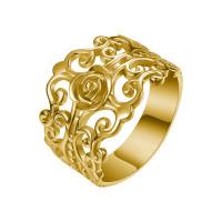 OLIVIE FILIGRÁN stříbrný prsten 4300 Velikost prstenů: 8 (EU: 57 - 58), Barva: Zlatá