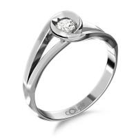 Couple Zlatý dámský prsten Pauline 6660223 Velikost prstenu: 52