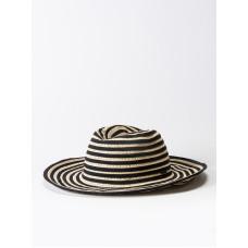 RVCA WHICH WAY black dámský slaměný klobouk
