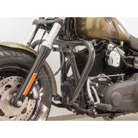 padací rám Fehling Harley Davidson Dyna Dyna Low Rider, (FXDL) 2015- černý - Fehling Ernest GmbH a Co. 7888DGX4