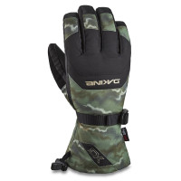 Dakine SCOUT OLIVE ASHCROFT CAMO/BLACK pánské prstové rukavice - XL