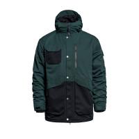 Horsefeathers BARNETT deep green zimní bunda pánská - M