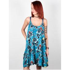 Billabong COCONUT COSTA BLUE společenské šaty krátké - S