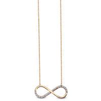 Zlato Zlatý dámský náhrdelník CB10154