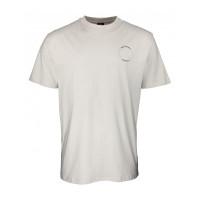 Independent FTS Skull SILVER pánské tričko s krátkým rukávem - XL