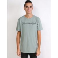 Quiksilver LOGO QUIK SIGNATURE GKB0 pánské tričko s krátkým rukávem - M