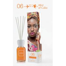 Mr & Mrs Fragrance Easy Aroma difuzér s náplní 06 - Cuba (Mint of Cuba) 250 ml