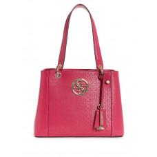 GUESS kabelka Kamryn Embossed Shopper Tote růžová vel.