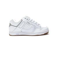 Dvs ENDURO 125 white/reflective/gum/nubuck pánské letní boty - 40EUR