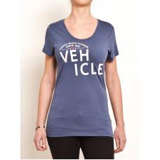 Vehicle BALDNESS blue dámské tričko s krátkým rukávem - S