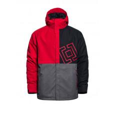 Horsefeathers TURNER RED zimní bunda pánská - XS
