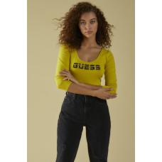 GUESS body Sport Logo Bodysuit venom green vel. M