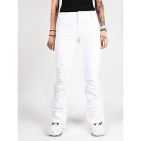 Roxy CREEK BRIGHT WHITE zateplené kalhoty dámské - L