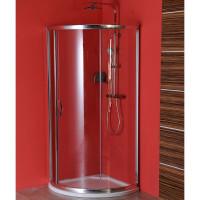 GELCO - SIGMA čtvrtkruhová zástěna 800x800 mm, R590, 1 dveře, L/R, čiré sklo (SG1160)