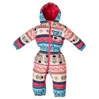 ROJO GIRLS ONESIE FOLKLORE PRINT dětská zimní bunda - 2