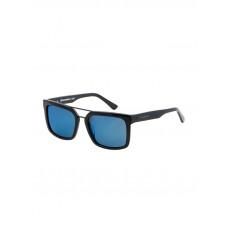 Horsefeathers CARTEL gloss black/mirror blue lenonky