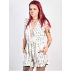 Billabong SUNNY GARDEN ROMPER white společenské šaty krátké - S
