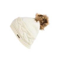 ROJO PLUSH TOP SNOW WHITE dámská zimní čepice