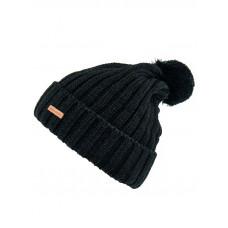 Horsefeathers JACKY black dámská zimní čepice