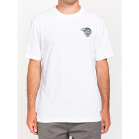 Element ANTIDOTE STATE OPTIC WHITE pánské tričko s krátkým rukávem - L