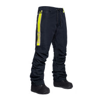 Horsefeathers SUMMIT black zateplené kalhoty pánské - XXL