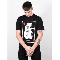 Element EASTERN BEAR FLINT BLACK pánské tričko s krátkým rukávem - XL