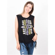 Picture Aztek 2 black dámské tričko s krátkým rukávem - S