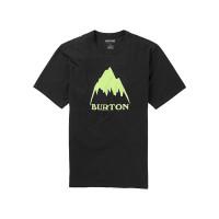 Burton CLASSIC MTN HIGH TRUE BLACK dětské tričko s krátkým rukávem - XL