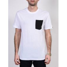 Etnies Operator white pánské tričko s krátkým rukávem - S