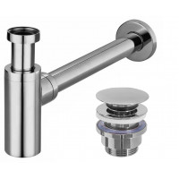 REA - Umyvadlový sifon click-clack chrom (REA-A5693)
