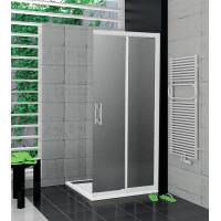 SanSwiss TOPD 0900 04 22 Pravý díl sprchového koutu 90 cm, bílá/durlux